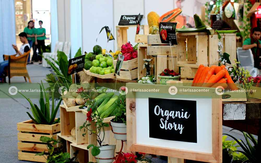 Booth Fresh Fruits Organic Story Festival