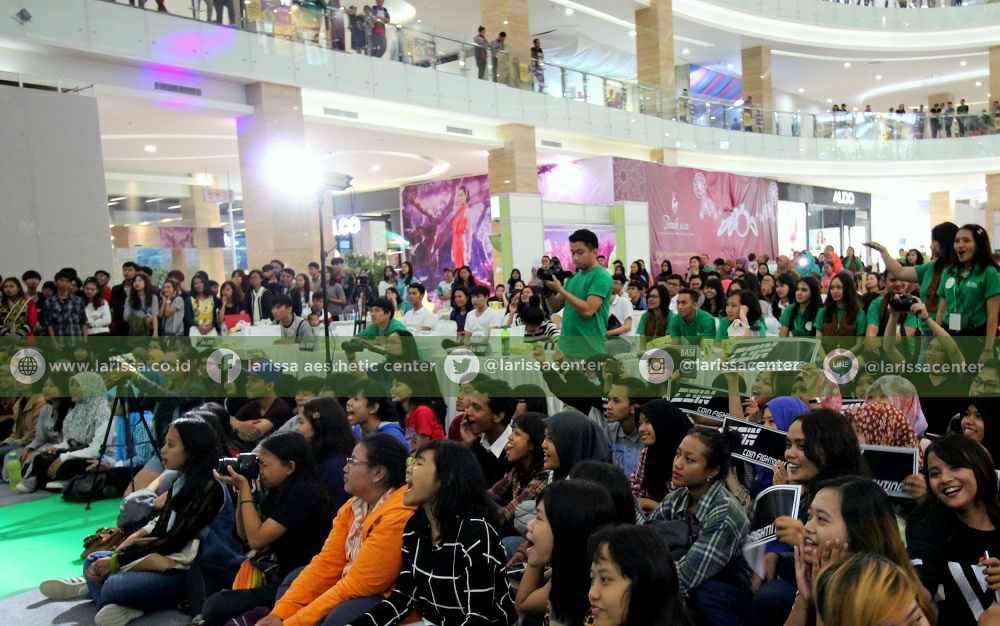 Suasana Atrium Hartono Mall saat Audisi basl
