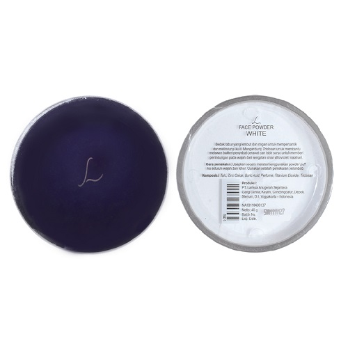 L Face Powder White