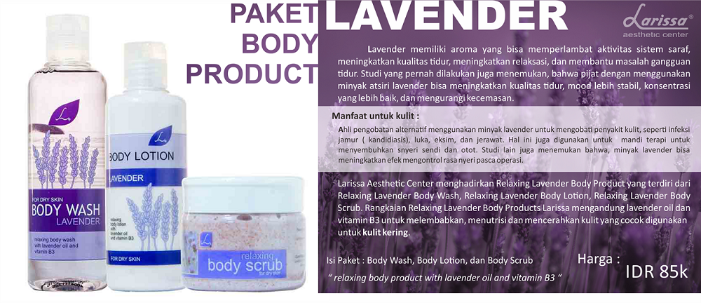 Paket Body Product Lavender