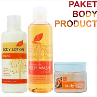 Paket Body Product Peach