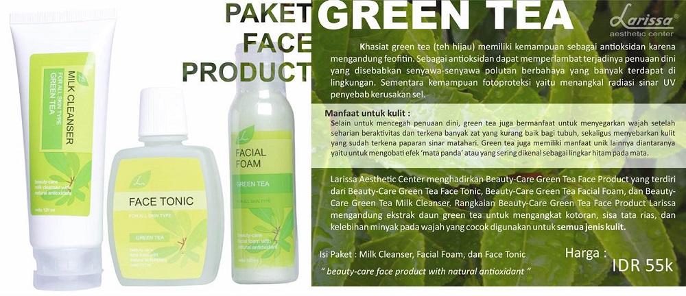 Paket Face Product Green Tea
