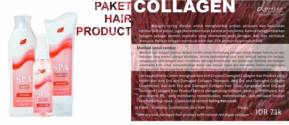 Paket Hair Product Collagen